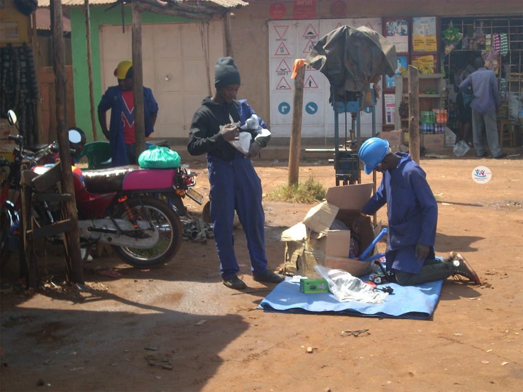 SETTING UP A SKILLS ACQUISITION CENTRE IN UGANDA