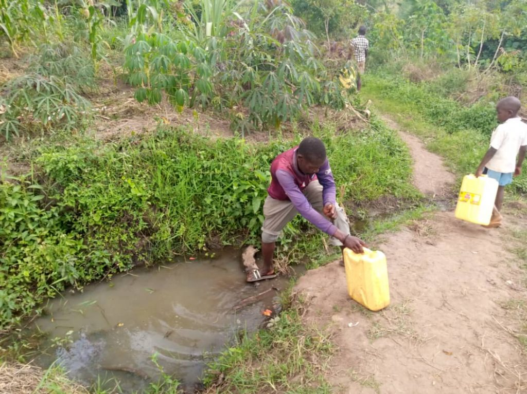 HELP IMPROVE ON THE STATE OF DRINKING WATER AND SANITATION AROUND SCHOOLS IN RURAL AREAS OF UGANDA
